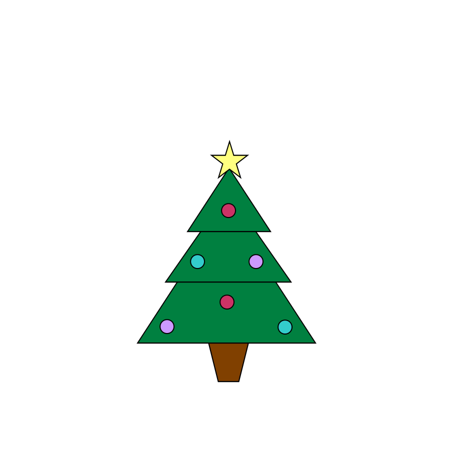 928x928 Xmas Tree Clip Art Christmas Tree Clipart Black And White Image