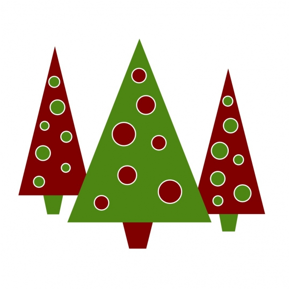 590x590 Christmas Tree Clipart Christmas Party