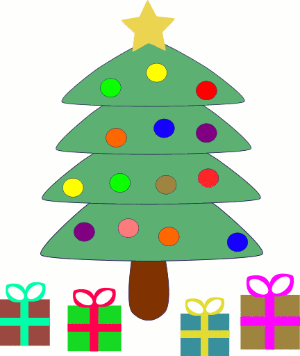 432x512 Christmas Tree Clip Art Tree Clipart 7