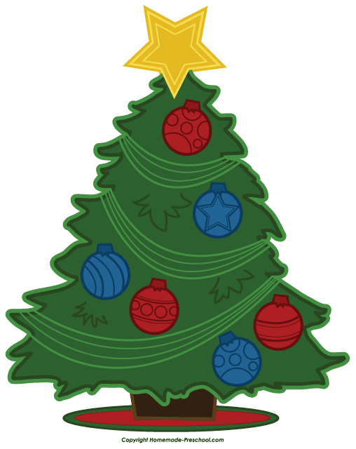 508x640 Free Christmas Tree Images Clip Art