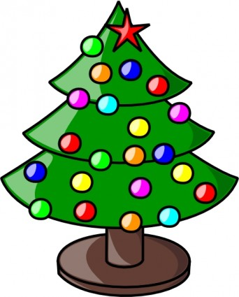 342x425 Christmas Tree Clipart Clipart Panda
