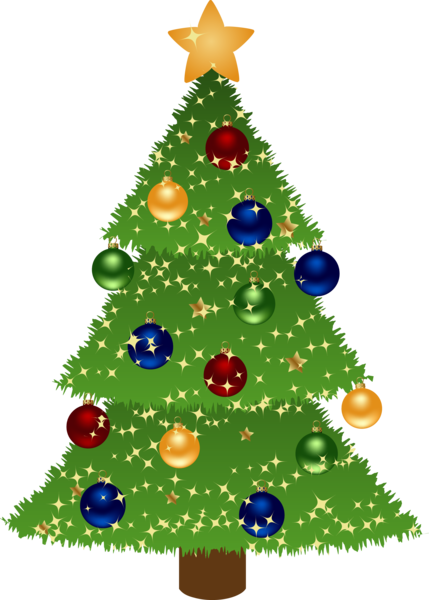 429x600 Christmas Tree Free To Use Clipart