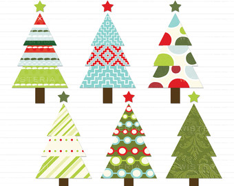 340x270 Country Christmas Tree Clipart