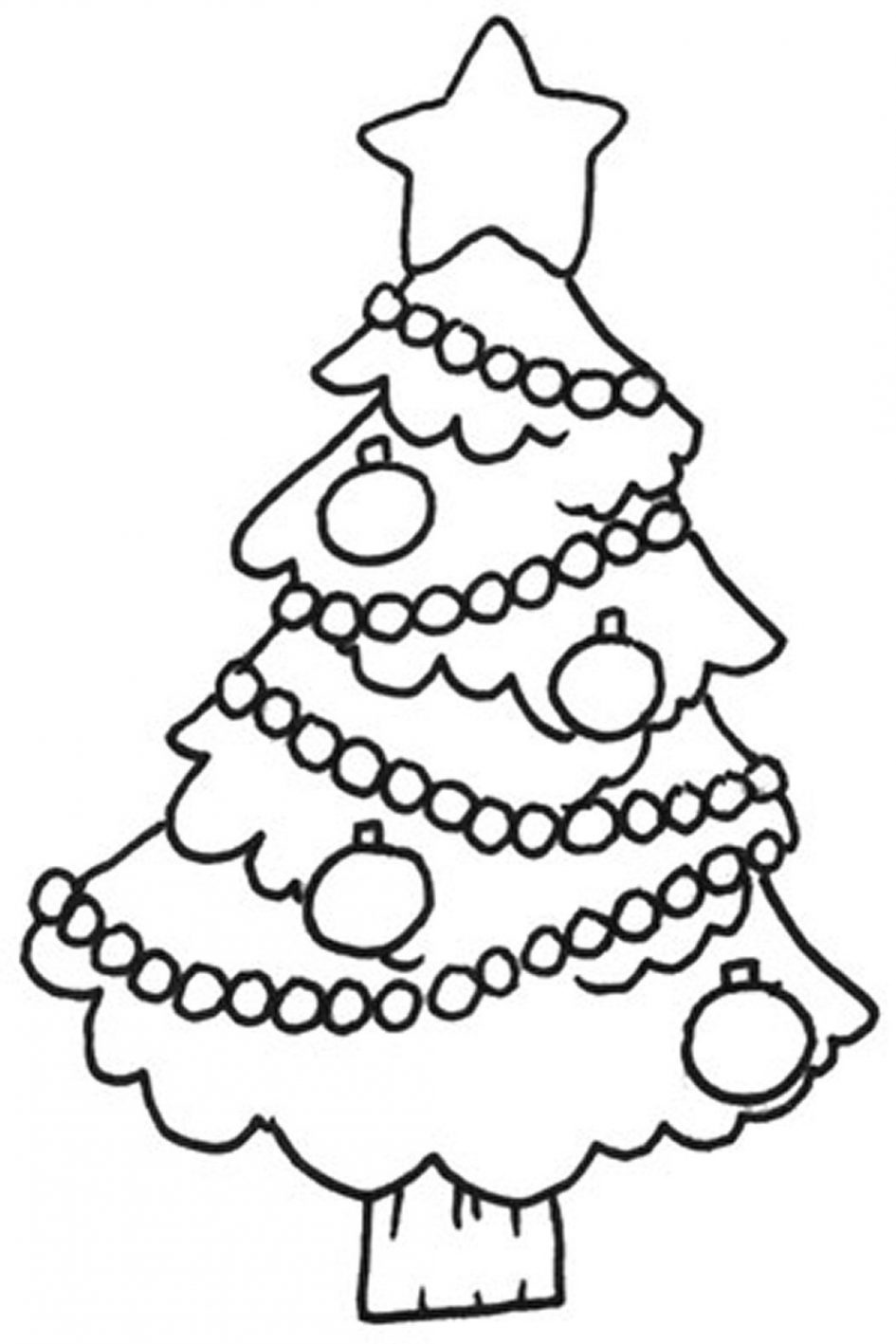 945x1417 Download Coloring Pages. Coloring Pages For Christmas Tree