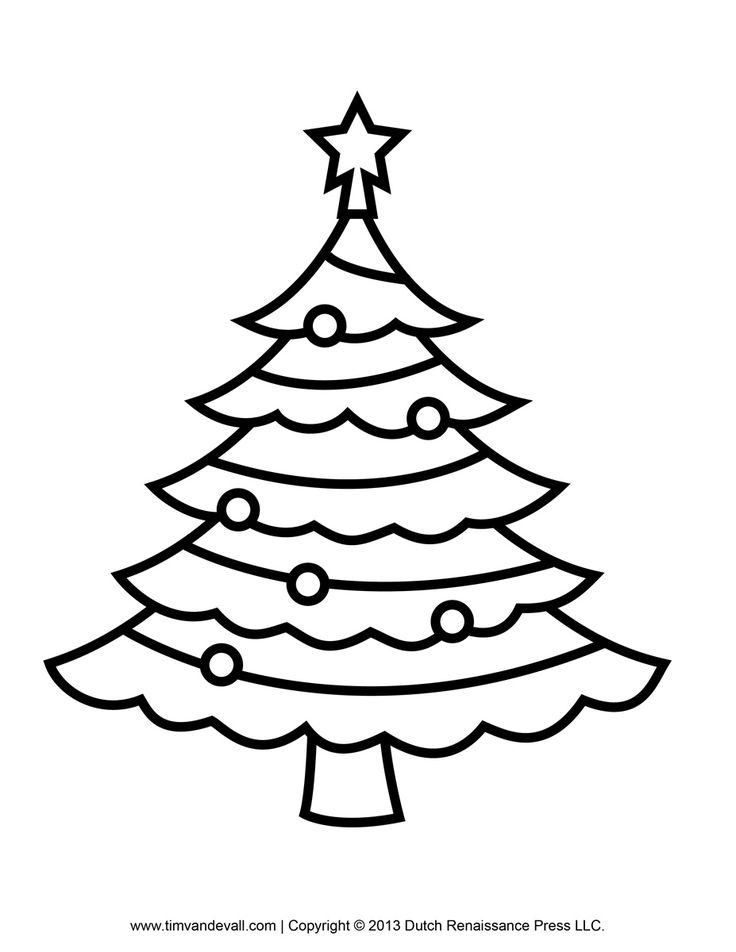 736x952 Best Christmas Tree Outline Ideas Christmas