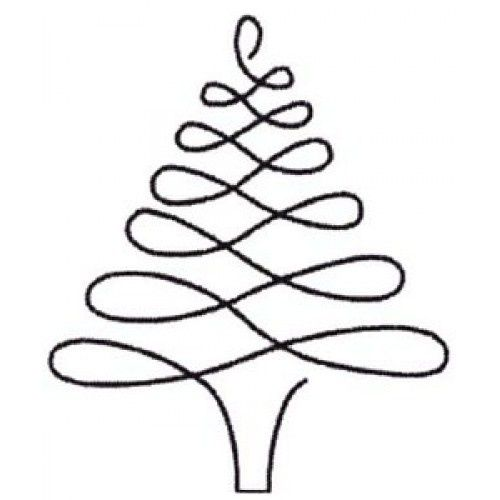 Christmas Tree Line Drawing Free Download Best Christmas