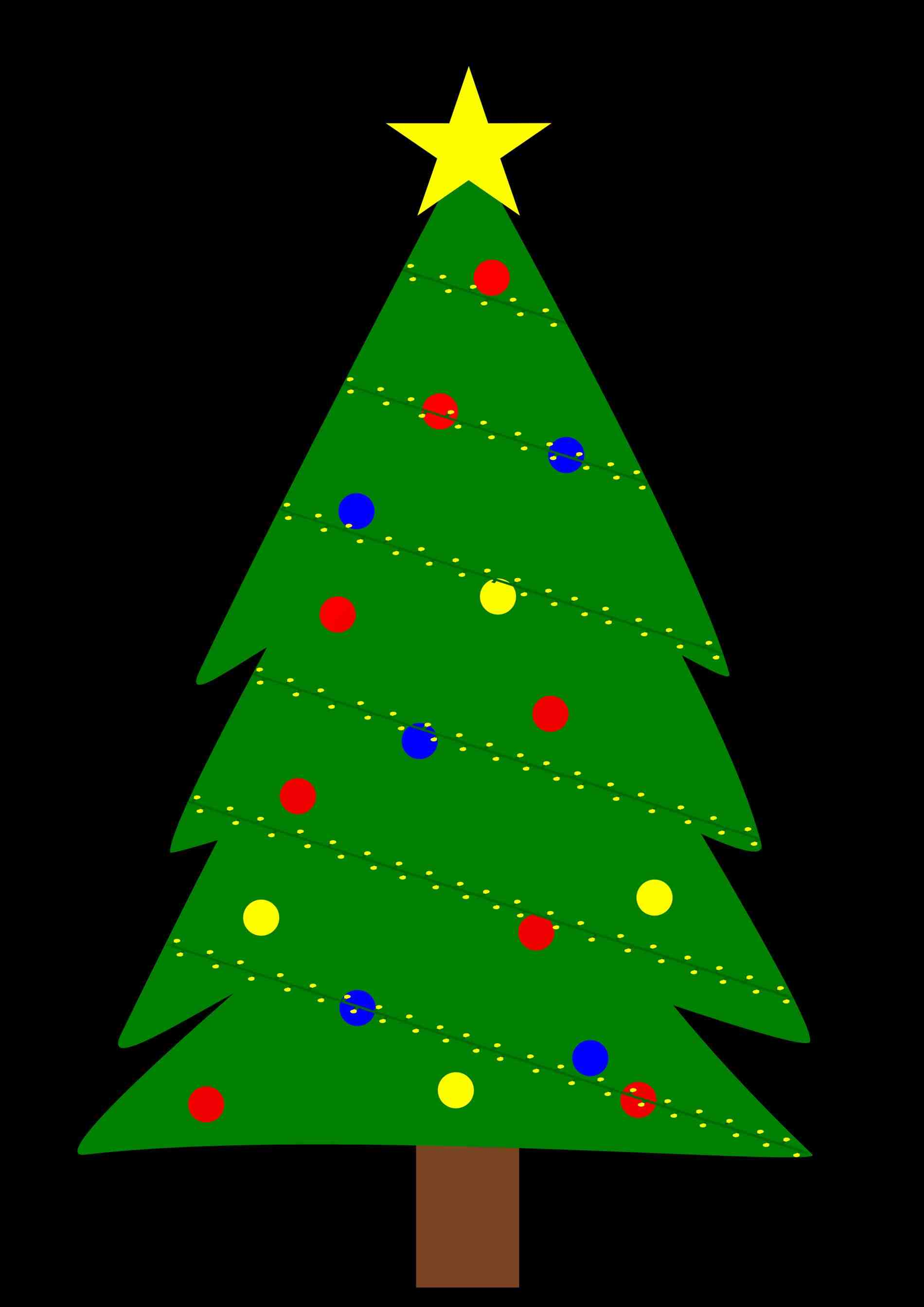1900x2686 Awesome Picture of Simple Christmas Tree Outline