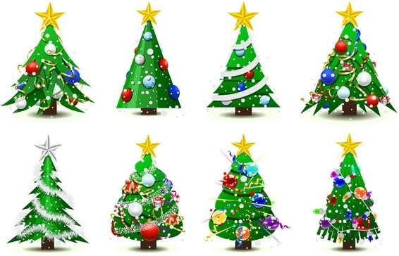 566x364 Christmas tree vector free vector download (9,977 Free vector) for