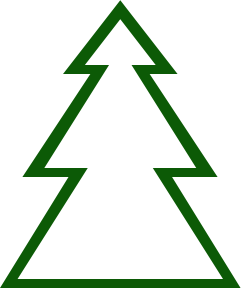 252x290 Free Christmas Tree Clipart Clipart Panda