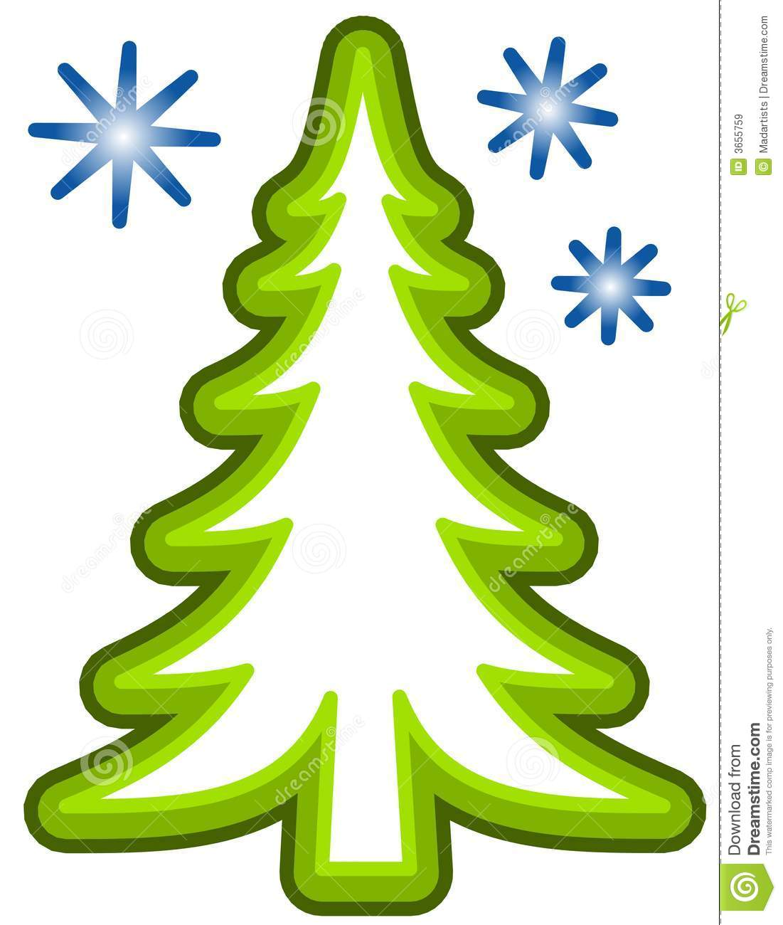 Christmas Tree Outline | Free download best Christmas Tree Outline ...