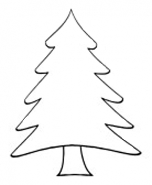 Christmas Tree Outline Free download best Christmas Tree Outline