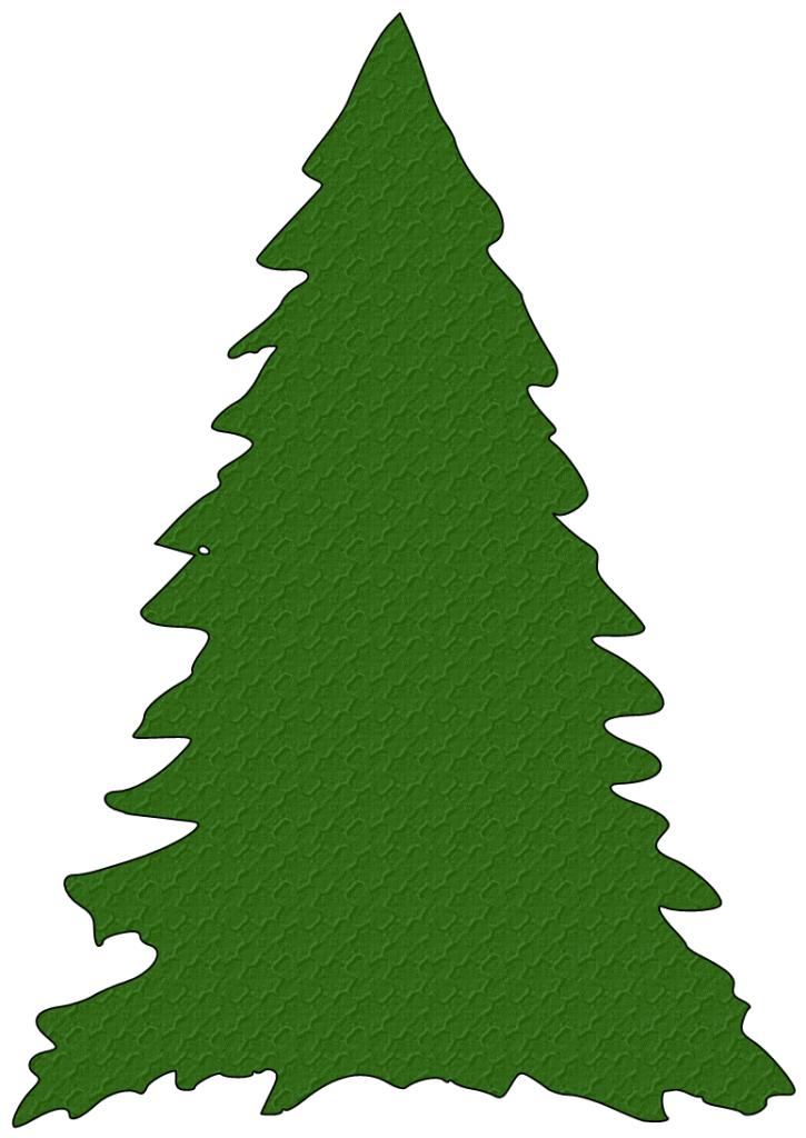 725x1024 Best Christmas Tree Outline
