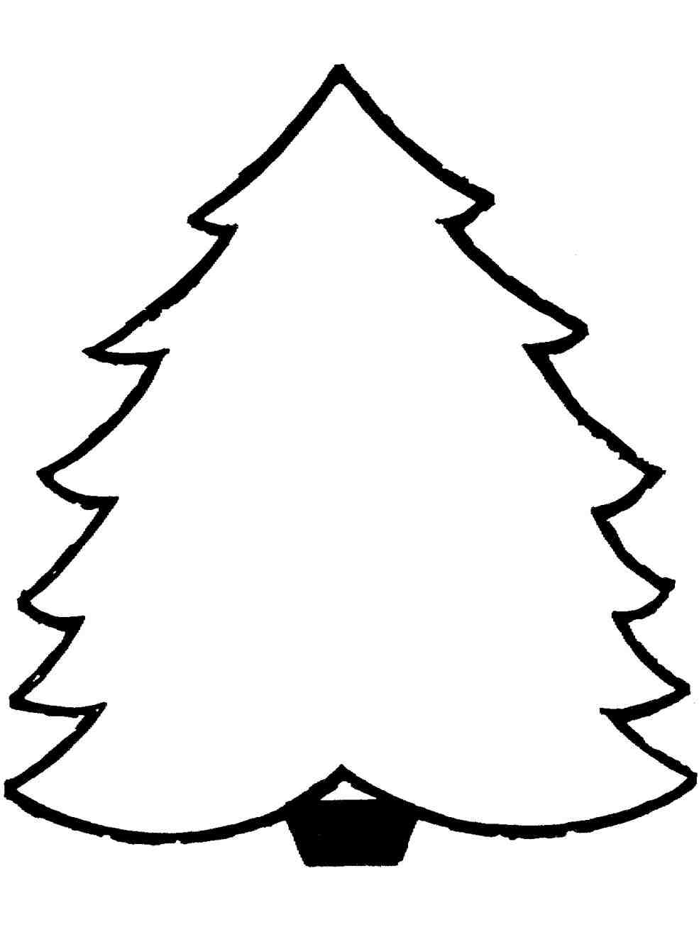 985x1314 Black And White Christmas Tree Outline cheminee.website