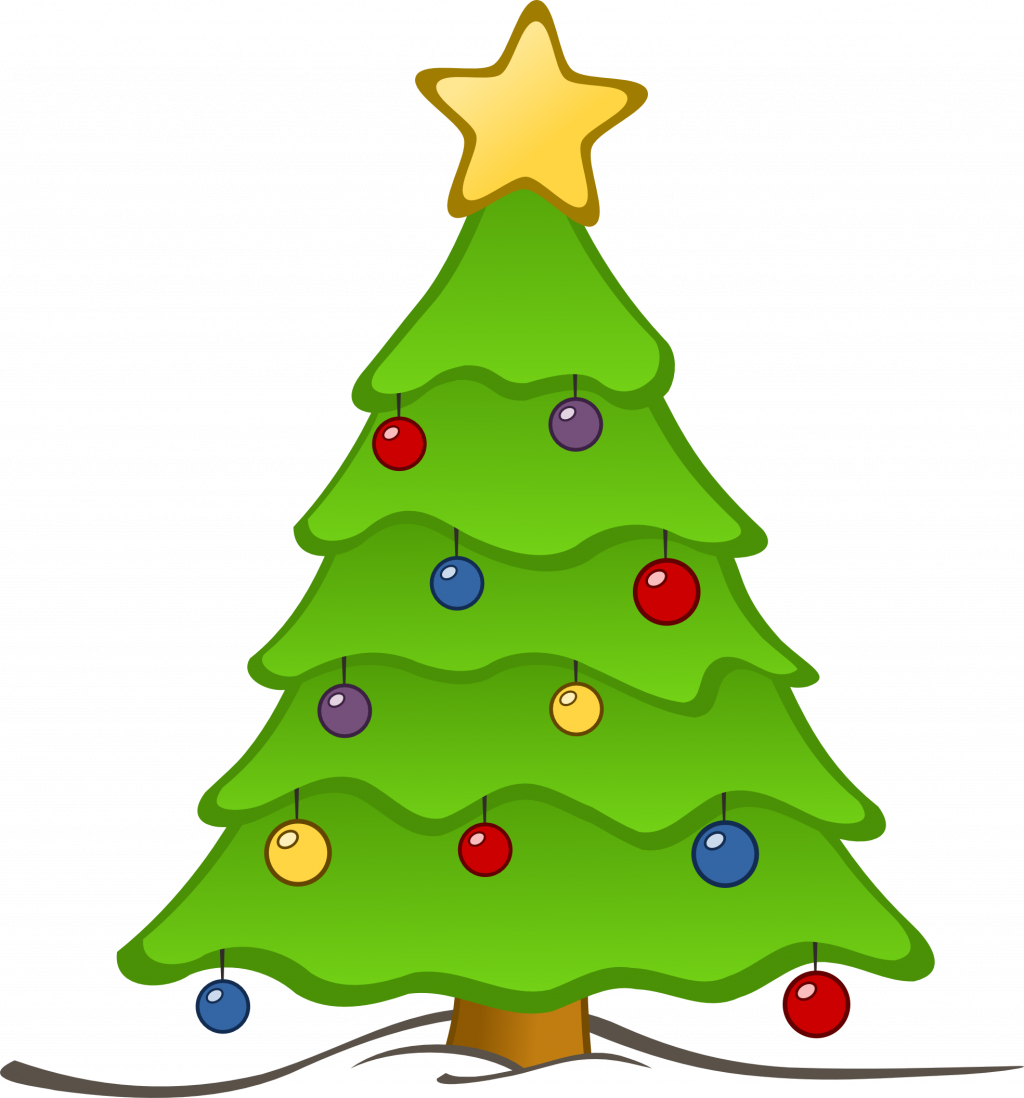 1024x1098 Christmas ~ Christmas Tree Clip Art Amazing Free Pictureschristmas