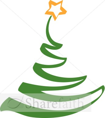 345x388 Green Christmas Tree Outline Clipart