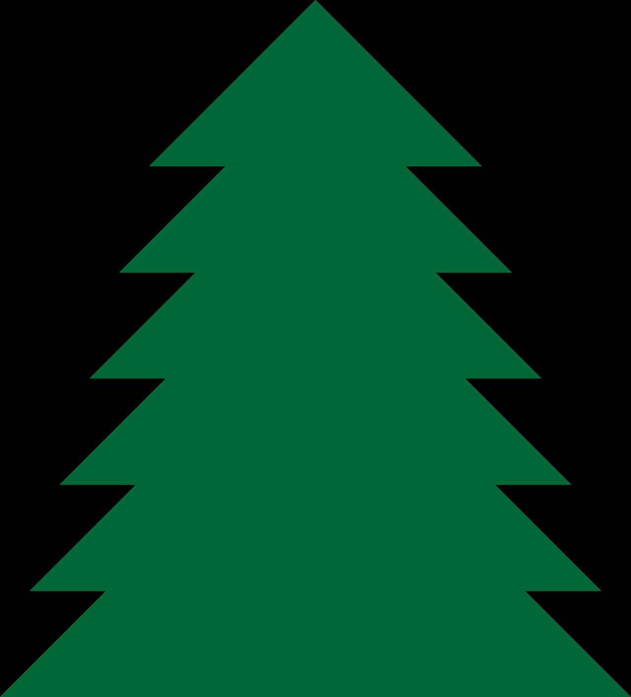 1282x1416 Pine Tree Clip Art For Christmas – Fun for Christmas