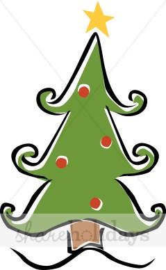 239x388 Whimsical Christmas Tree Christmas Tree Clipart