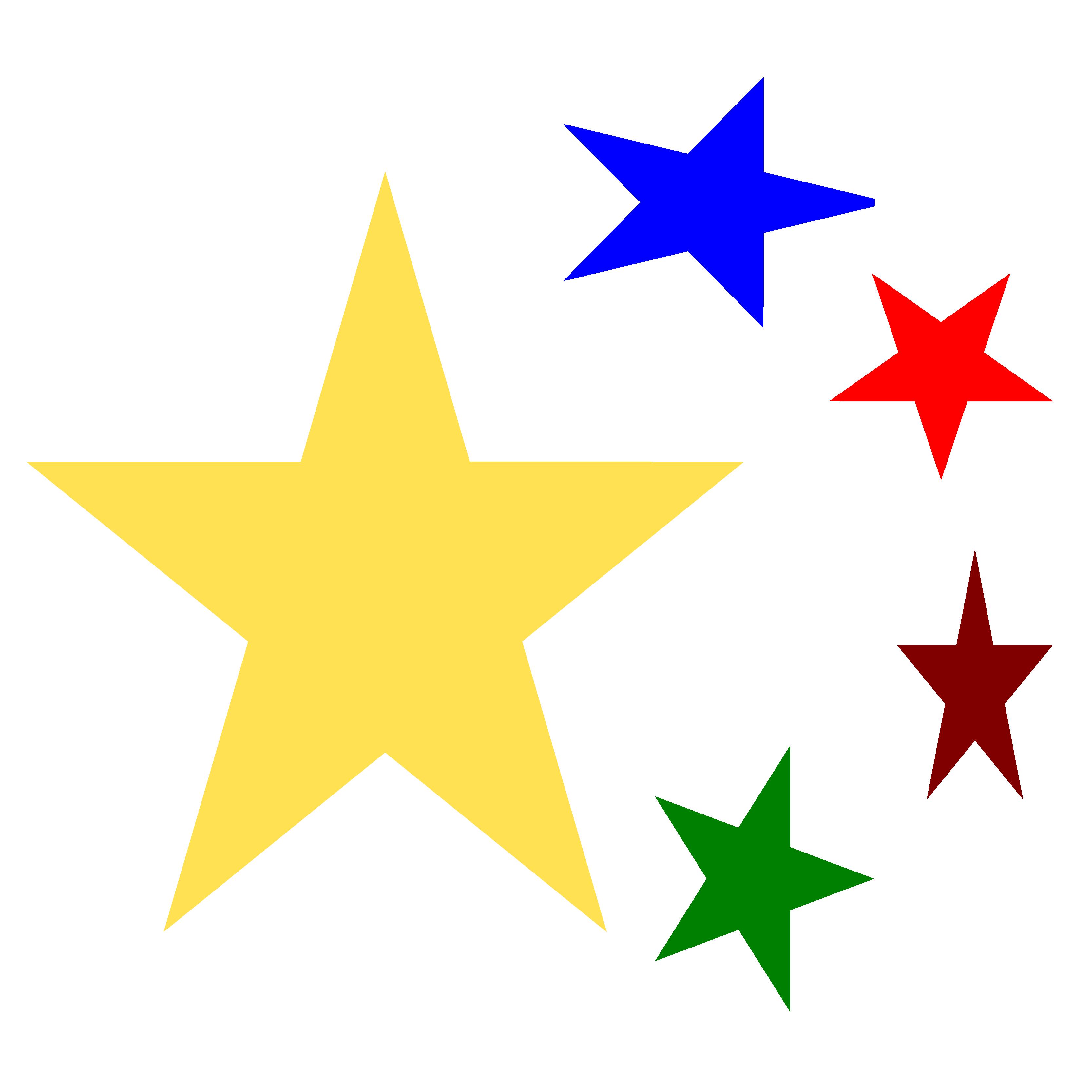 3333x3333 Christmas Clipart Stars