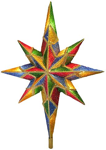 344x483 Christmas Tree Star Clipart