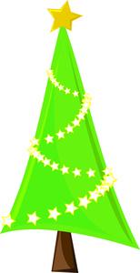 154x300 Free Christmas Tree Clip Art Image