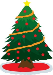 212x300 Free Christmas Tree Clipart Image