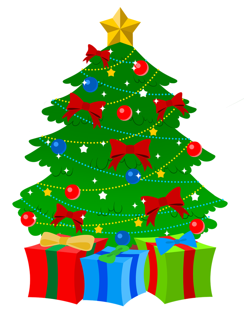 800x1051 Christmas Tree Free Clipart