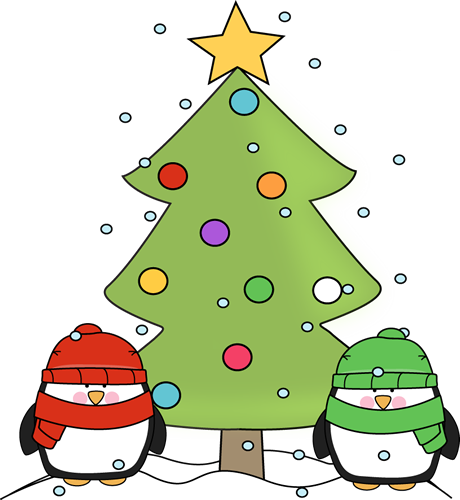 460x500 Cute Christmas Tree Clipart