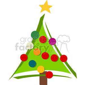 300x300 Royalty Free Royalty Free Christmas Tree 379775 Vector Clip Art