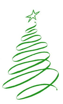 269x442 Spiral Clipart Christmas Tree
