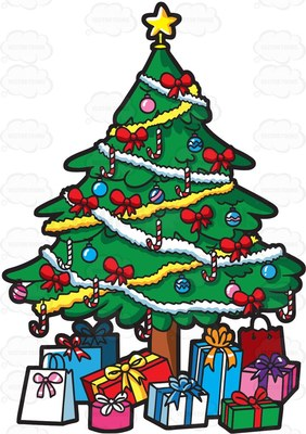 282x400 Candy Cane Clipart
