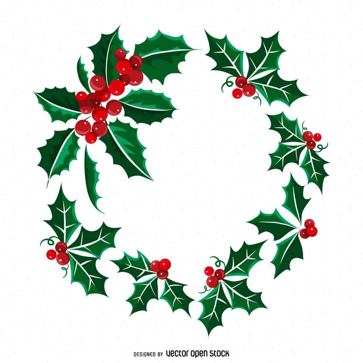 Christmas Wreath Silhouette.Christmas Wreath Clipart Free Download Best Christmas