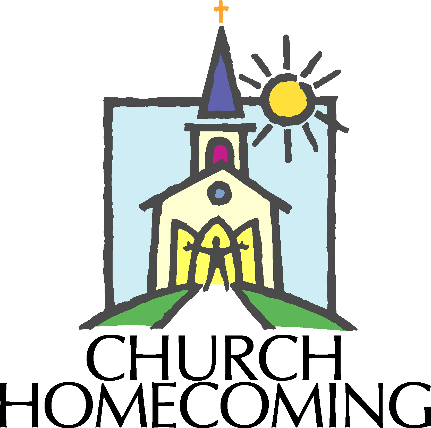 1673x1661 Steeple Clipart Church Anniversary