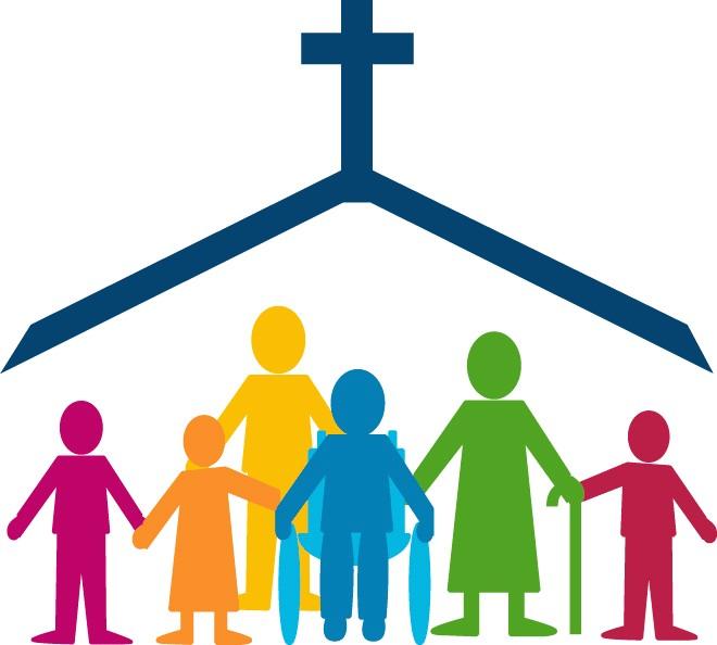 660x594 Church Family Clip Art