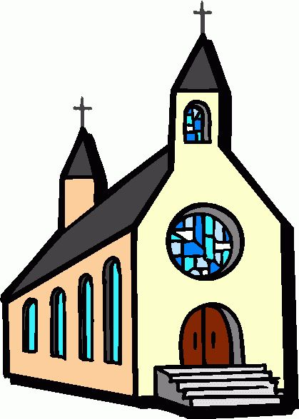 419x588 Church Building And Clip Art