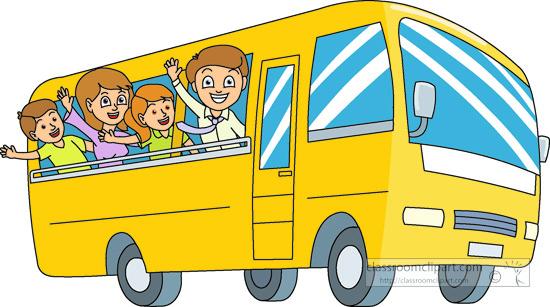 550x307 Bus Clipart