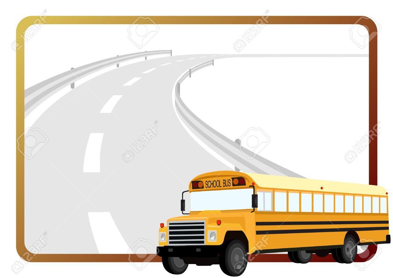 1300x919 Bus Clipart Background