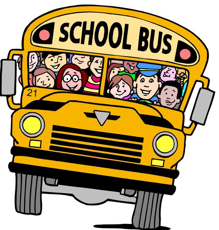 736x770 Bus Clipart Person