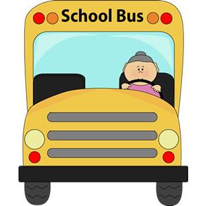 300x300 Bus Driver Clipart