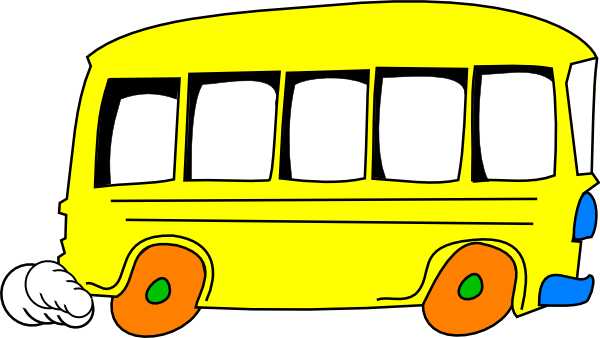 600x338 Bus Clip Art Black And White Free Clipart Images