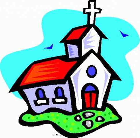 485x480 Church Clip Art Black And White Free Clipart Images
