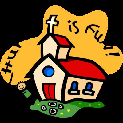 400x400 Image Church Is Fun Church Clip Art