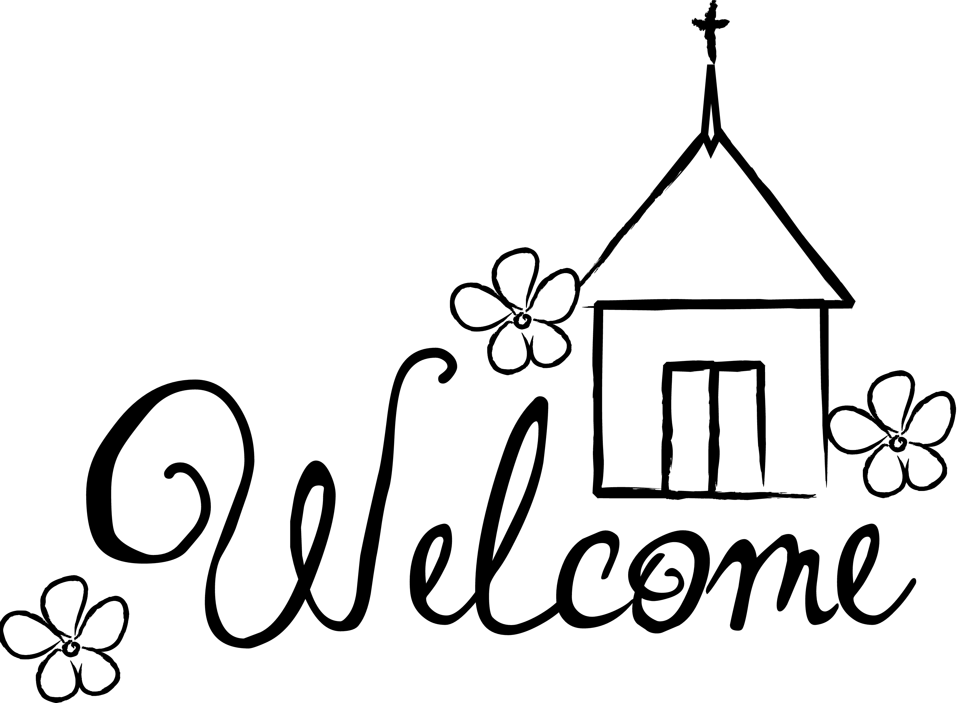 3300x2417 Welcome To The Church Family Clipart
