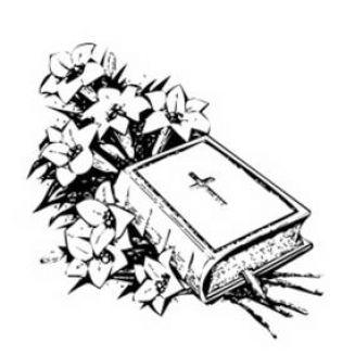 327x327 Church Bulletin Clip Art Black And White 101 Clip Art