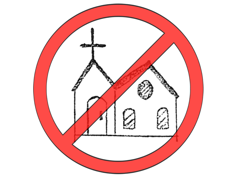 800x600 4 Reasons Why You Should Never Go To Church Again