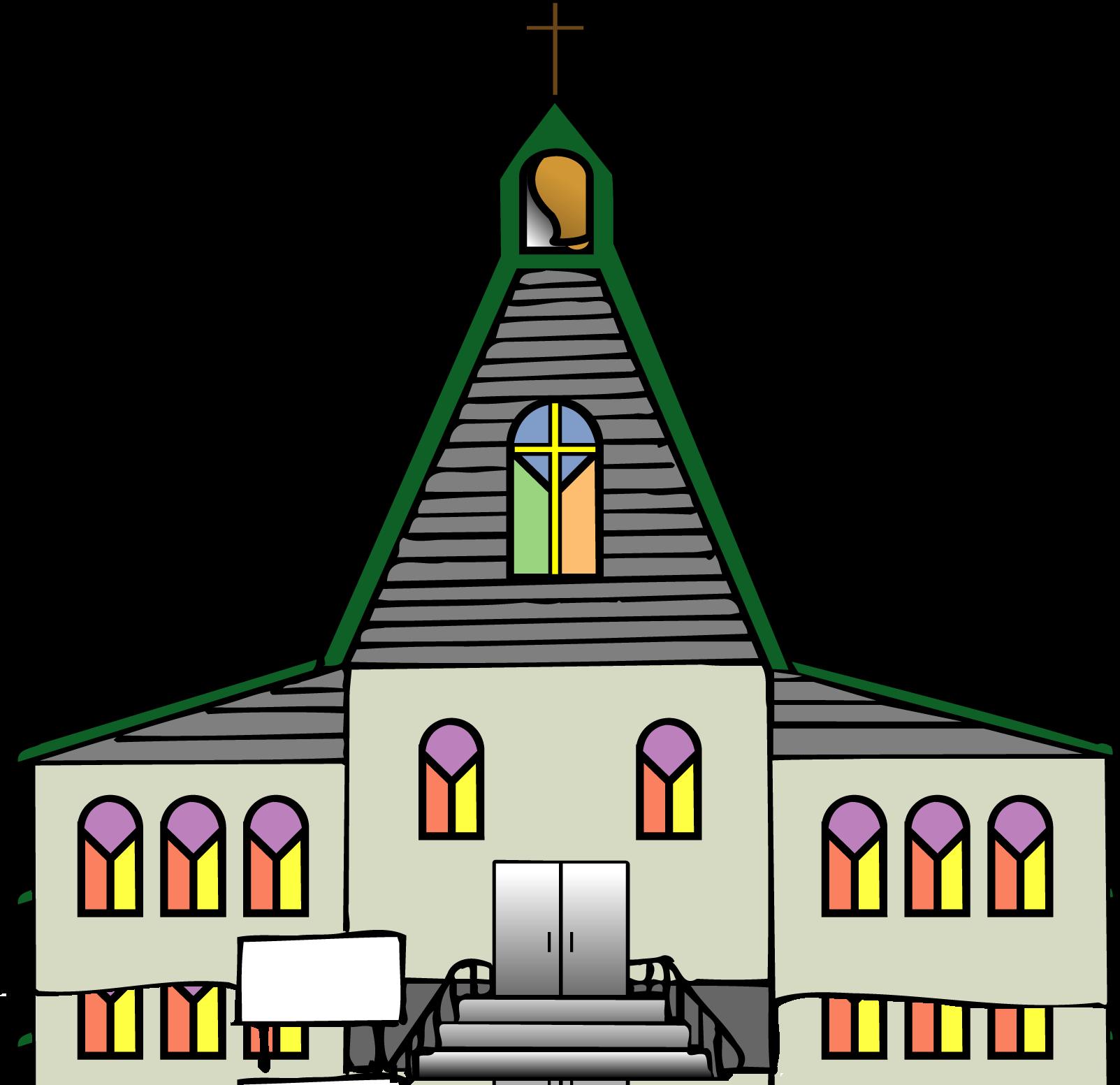 1603x1553 Church Clipart Images