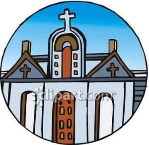 300x292 Catholic Church Clipart