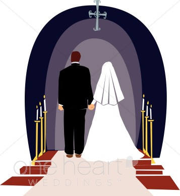 357x388 Wedding Clipart Church