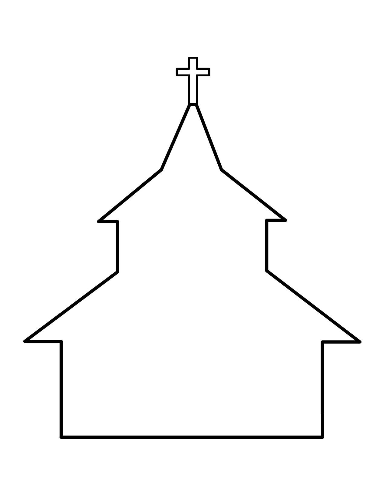 1275x1650 Church Banner Clipart
