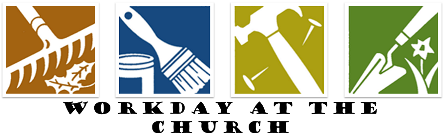 909x274 Church Work Day Clipart