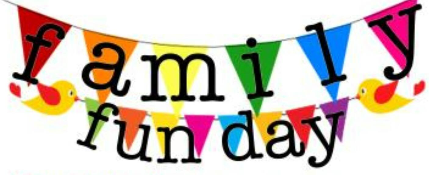 1407x576 Family Fun Day Banner